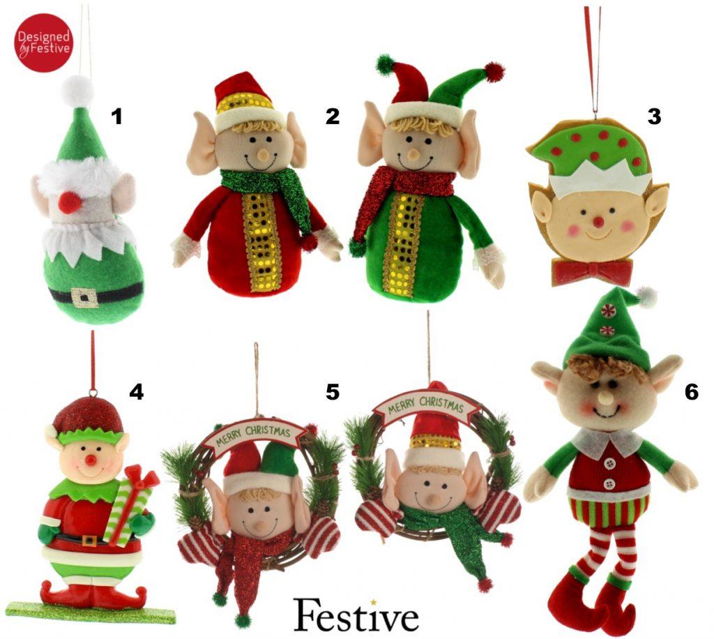 Christmas Elves Decor